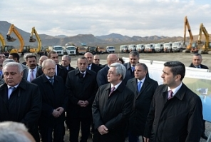 Vedi Water Reservoir construction launched in Armenia