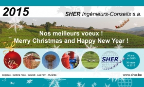 SHER wishes you a Merry Christmas and a Happy New Year
